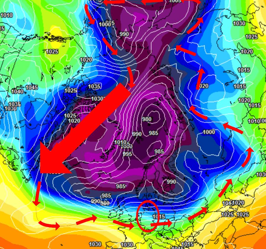 Die Wetteraktivität bleibt auf einem hohen Niveau und macht den Winter chancenlos