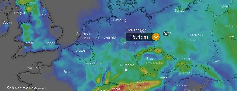 Schneeprognose Weihnachten 2019.Wetter Winter 2018 19 Aktuelle Wetterprognose Vom 8 12 2018