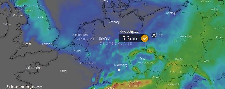 Schneeprognose Weihnachten 2019.Wetter Winter 2018 2019 Aktuelle Wetterprognose Vom 9 12