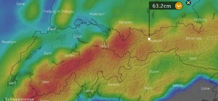 Schneeprognose Weihnachten 2019.Wetter Weihnachten 2018 Aktuelle Wetterprognose Vom 05 12