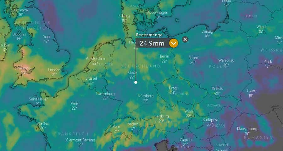 Wettertrend Norddeutschland