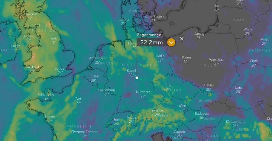 Niederschlagsprognose Wetter.Com