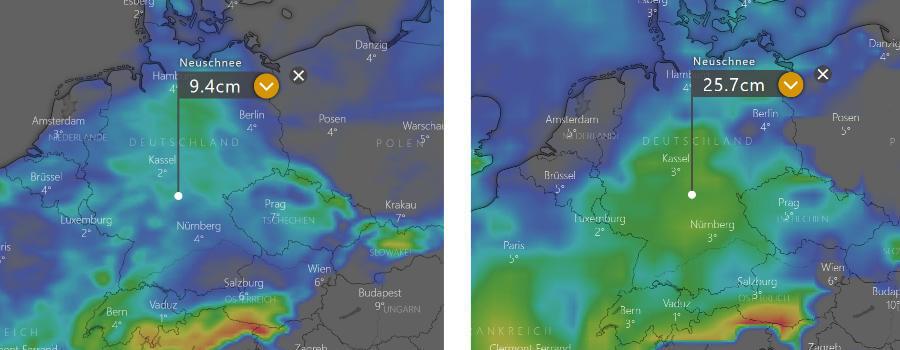 Schneeprognose 2021